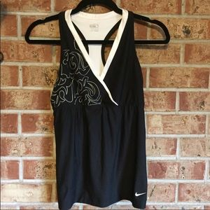 Nike fit dry workout tank top racer back